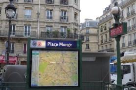 Marche Monge Paris-metro place monge