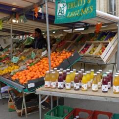 Marche Monge Paris-organic fruit and vegetable