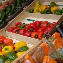 Marche Monge Paris-organic vegetable