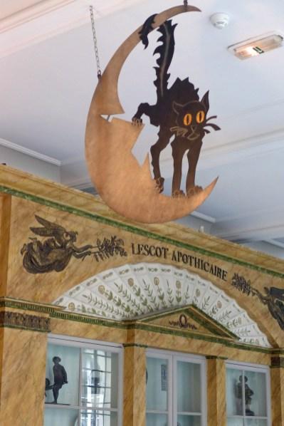 Carnavalet Museum-Paris-Sign Cabaret Le chat noir