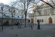 Exploring Passy-Paris-Church Notre dame de la grace