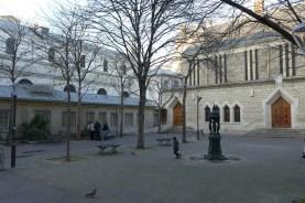 Exploring Passy-Paris-Church Notre dame de la grace