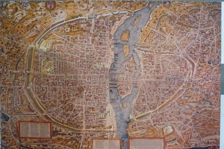 Pavillon de l Arsenal-Paris-Plan de Truchet et Hoyau-1553