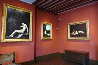 Musee Henner-Paris- In the red room