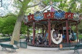 Parc Monceau Paris- Merry-go-round