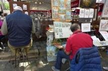 Montmartre-Paris-Place du tertre-02
