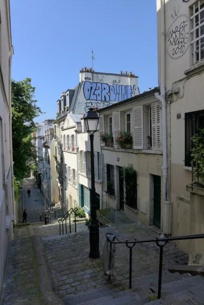 Montmartre-Paris-Rue Andre Antoine