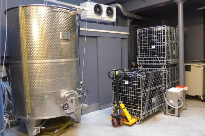 Les Vignerons Parisiens-Fermentation and storage