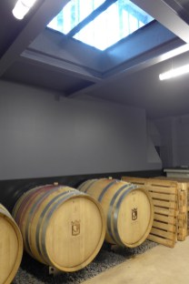 Les Vignerons Parisiens-The cellar