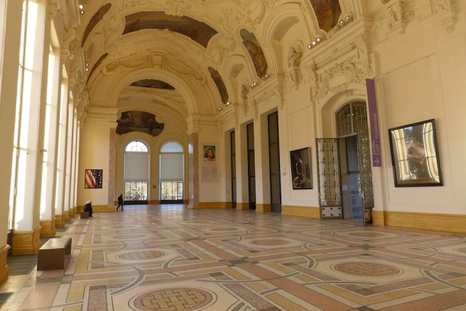 Inside the Petit Palais - Paris