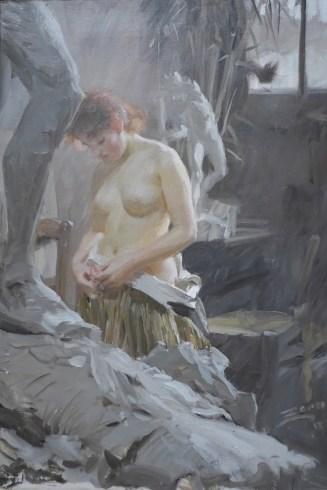 Anders Zorn-Dans l'atelier de Wikström-1889