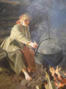 Dans le fumoir-1906