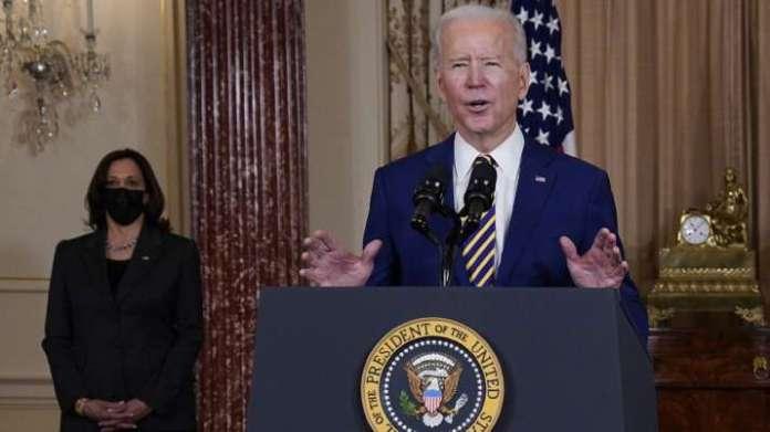 Biden says that the US will meet its target of 100 million viruses on Friday