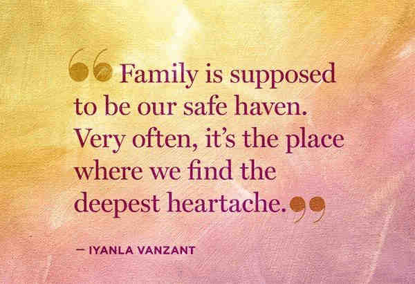 Image result for bad family quotes