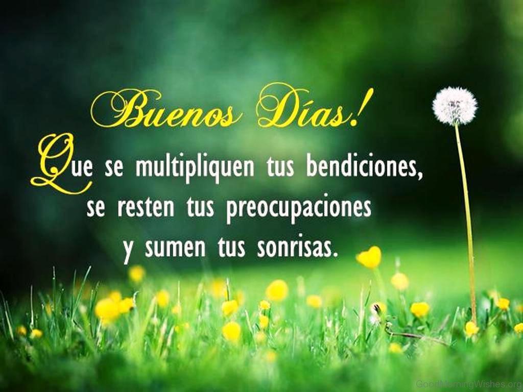 Morning Quotes Spanish