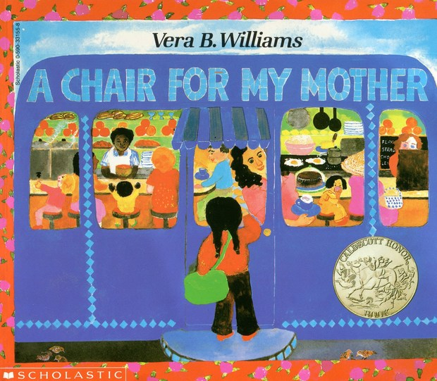 A Chair For My Mother is a children's book that teaches values
