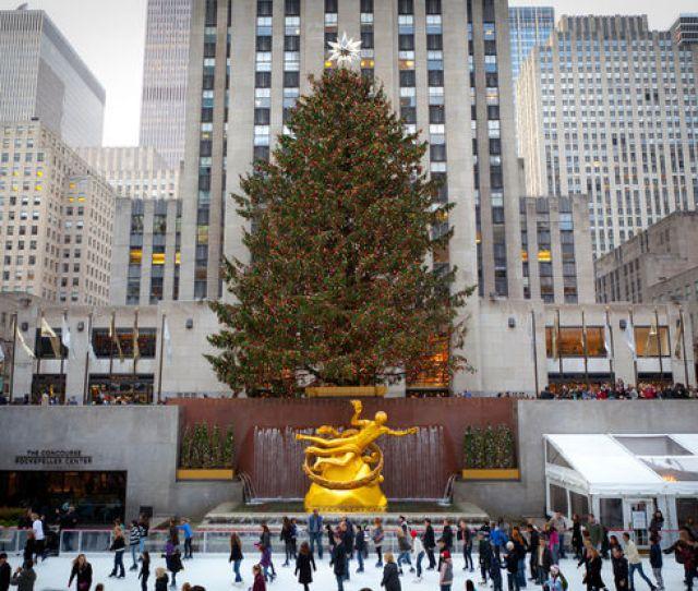 The Rockefeller Center Christmas Tree