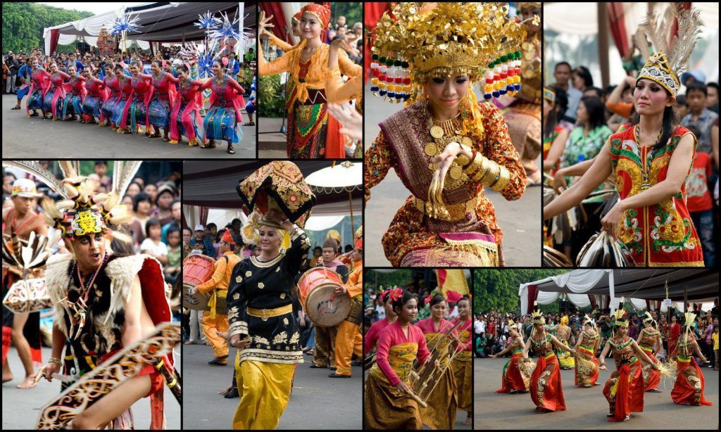Tamu Kehormatan Seni Budaya Indonesia Melenggang di