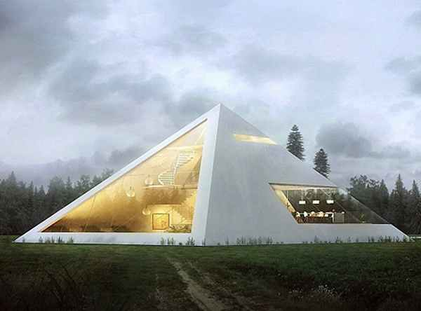 Design Of The Future? Architect Imagines Amazing Pyramid House