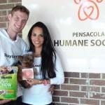 Mark and Ismini Svensson give to Humane Society