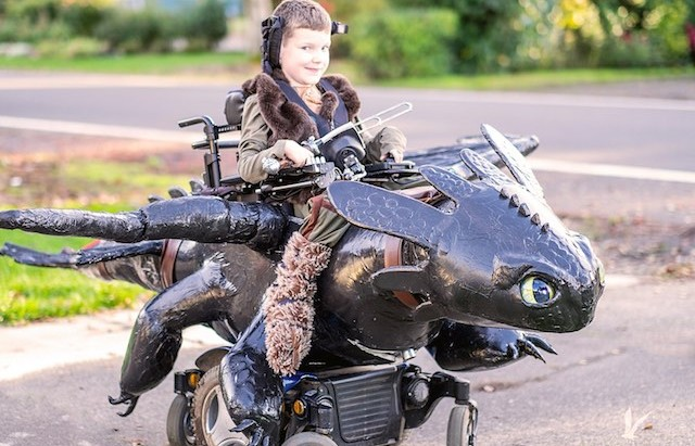 Dads Awesome Nonprofit Builds WheelchairBased Halloween
