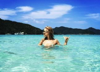Margot Robbie in the Philippines