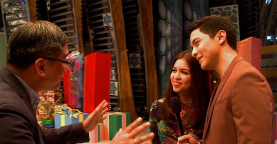 Aldub and Rico Hizon