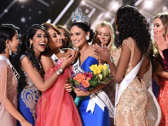 Pia Alonzo Wurtzbach is crowned Miss Universe 2015