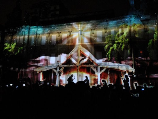 UST Paskuhan 3D video mapping