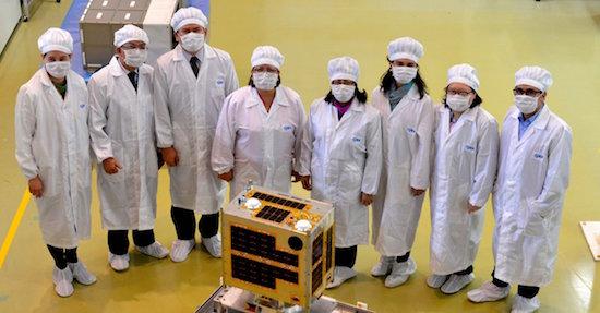 Diwata, the first microsatellite built by an all-Filipino team