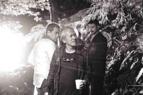 Lav Diaz with John Lloyd and Piolo