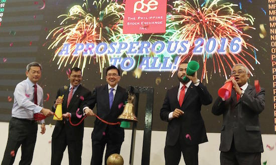 PSE opens first trading day of 2016
