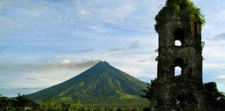 Mayon Volcano and Cagsawa Ruins