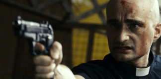 Ruben Maria Soriquez in a scene from Of Sinners and Saints