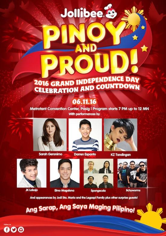 Jollibee Pinoy and Proud