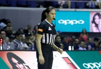 PBA makes history with debut of first female referee