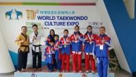 PH team wins 5 World Taekwondo Golds