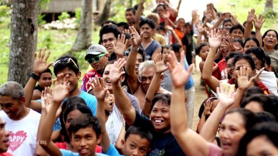 Happy Filipinos