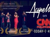 Acapellago triumphs at A Capella Asia Pacific Championship
