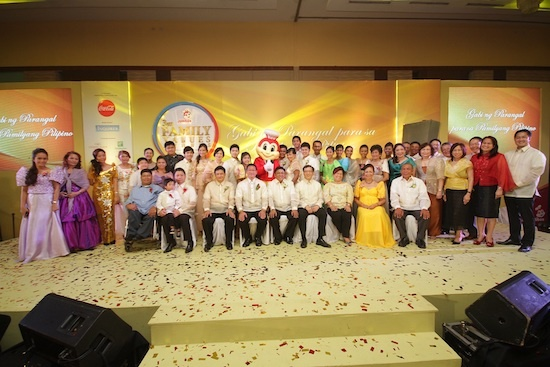Jollibee Family Value Awards winners