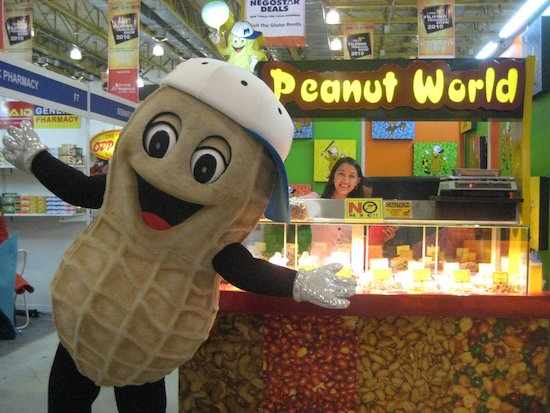 Peanut World mascot