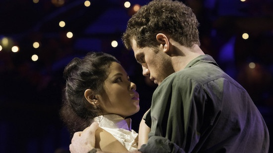 Eva Noblezada and Alistair Brammer
