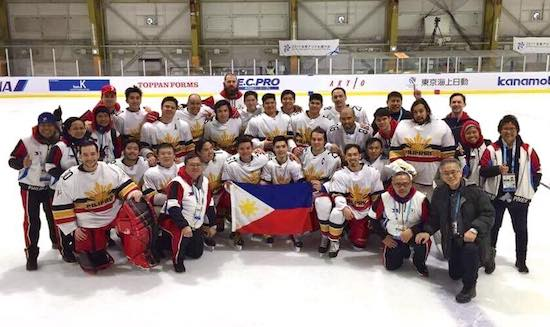 Philippines Men's National Ice Hockey Team