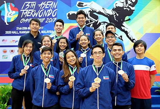 Filipino taekwondo jins