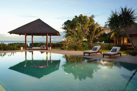 Amanpulo pool villa
