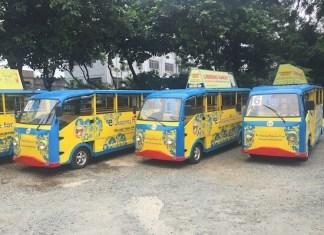 Modernized jeepneys
