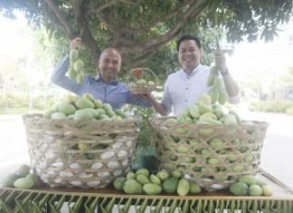 Megaworld Cebu Properties, Inc. president Noli D. Hernandez andLapu-Lapu City Tourism head Hembler Mendoza