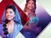 Arielle Jacobs & Lissa de Guzman star as Jasmine on Disney's Aladdin in Broadway and US tour