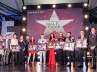 Walk Of Fame awardees dedicate stars to film and TV colleagues