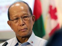 Defense Secretary Delfin Lorenzana, a farmer's son who became general